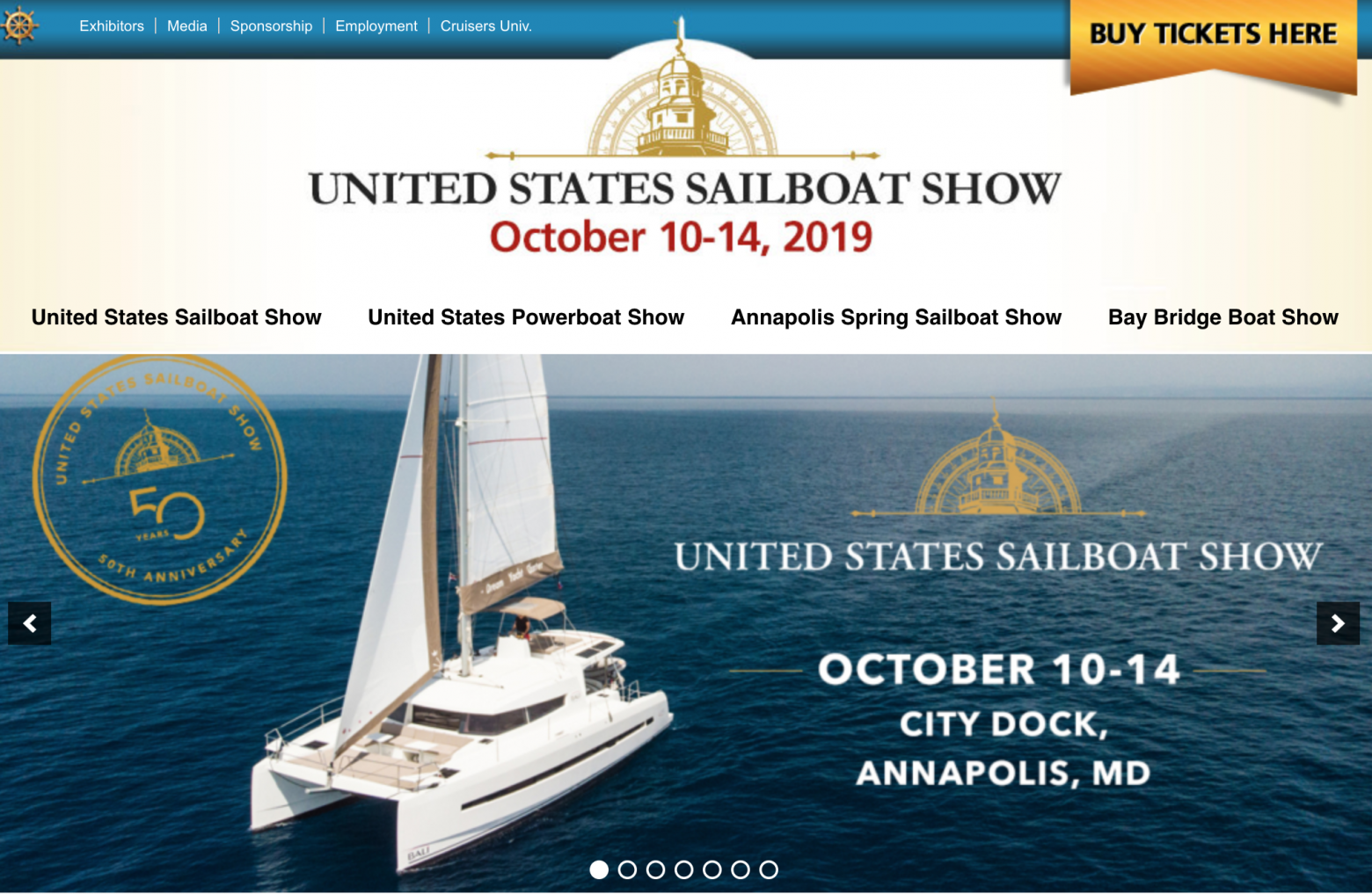 Annapolis Boat Show Spring 2020.2019 United States Sailboat Show Preview Part 1 Catamarans